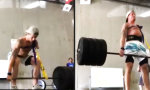 Einarmiges Deadlifting