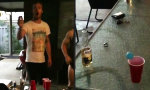 Funny Video : Einmaliger Beer-Pong Treffer